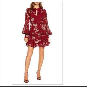Bardot floral mini dress XL